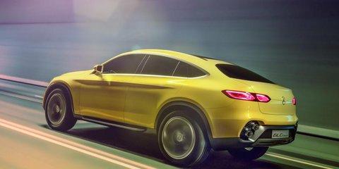 Mercedes-Benz GLC Coupe concept premieres in Shanghai