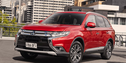 2016 Mitsubishi Outlander pricing & specifications
