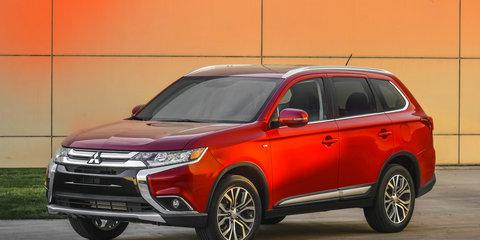 2016 Mitsubishi Outlander revealed - UPDATE