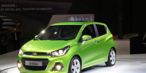 2016 Holden Barina Spark previewed by new pint-sized Chevrolet hatch —UPDATED