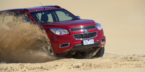 2015 Holden Colorado 7 LTZ Review: Sand driving