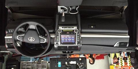 2015 Toyota Camry production kicks off at Altona