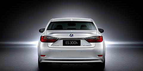 2016 Lexus ES unveiled at Shanghai auto show