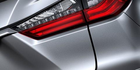 2016 Lexus RX200t revealed at Shanghai auto show