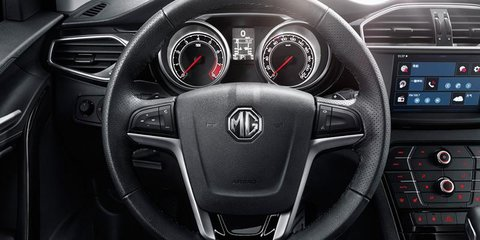 MG GS SUV revealed at Shanghai motor show