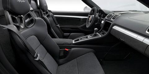 Porsche Boxster Spyder revealed