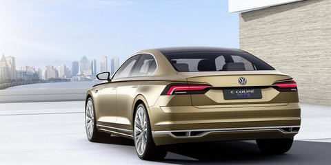 Volkswagen C Coupe Concept luxury limo revealed