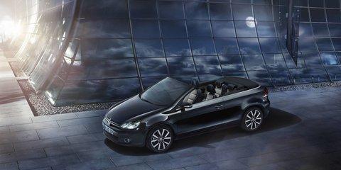 Volkswagen Golf Cabriolet Exclusive: New model adds extra equipment