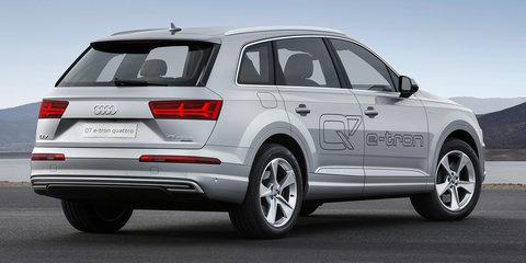 Audi Q7 2.0 e-tron TFSI quattro plug-in petrol-electric hybrid unveiled