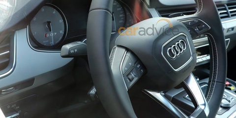 Audi SQ7 spied inside and out
