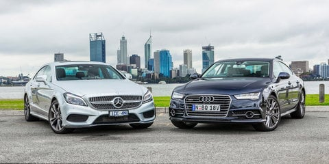 Audi A7 TDI Biturbo Quattro v Mercedes-Benz CLS 500 : Comparison Review