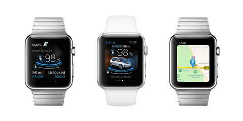 Porsche and BMW among first to offer Apple Watch apps