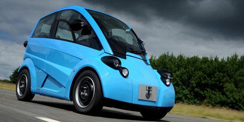 Gordon Murray, Osamu Goto, Shell collaborate on Project M city car concept