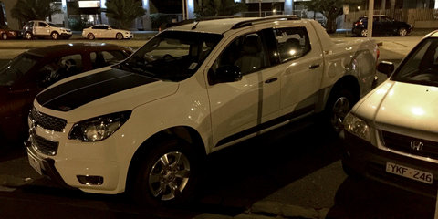 Holden Colorado Z71 : Lion brand's Ranger Wildtrak fighter spotted in production trim
