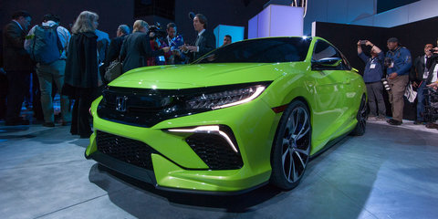 Honda Civic Concept unveiled in New York