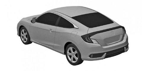 Next-generation Honda Civic sedan, coupe revealed in patent images