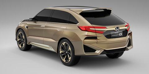 Honda Concept D revealed in Shanghai