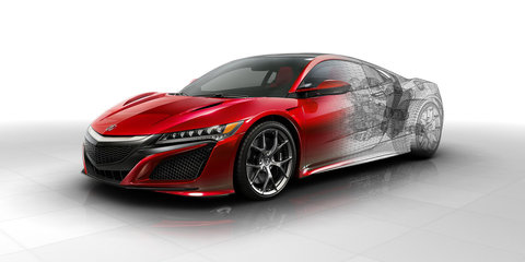 Honda NSX engine and technical details revealed