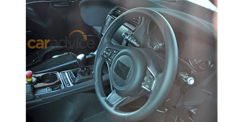 Jaguar F-Pace interior and exterior spy photos