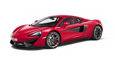 McLaren 540C 'entry' model premieres