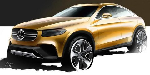 Mercedes-Benz GLC Coupe concept teased