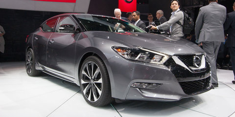 Nissan Maxima unveiled in full in New York
