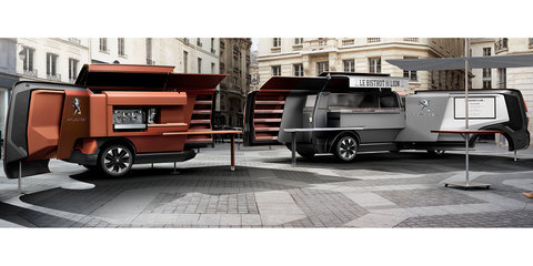 Peugeot Foodtruck concept will serve meals at Milan World's Fair