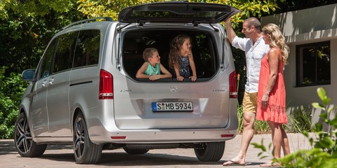 2015 Mercedes-Benz V-Class pricing and specifications