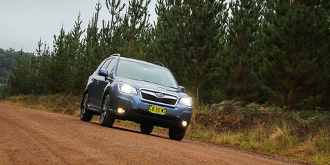 Mitsubishi Outlander v Subaru Forester : SUV comparison review