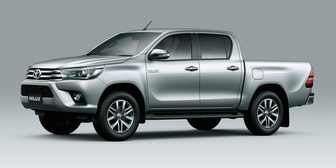 2016 Toyota HiLux interior, additional variants revealed in official images