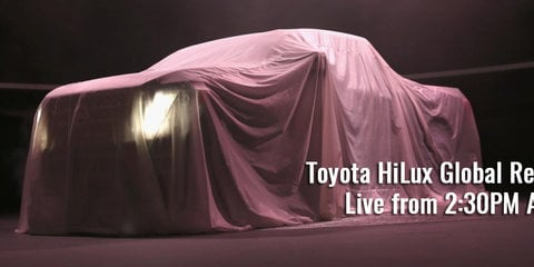 2016 Toyota HiLux global reveal — LIVE