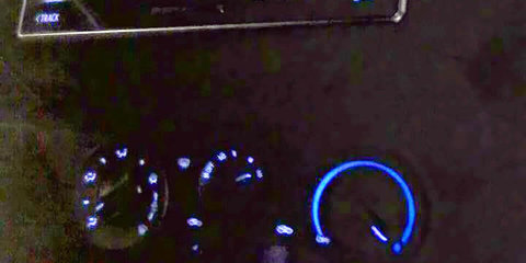 2016 Toyota HiLux interior photos leaked showing Lexus LCD screen