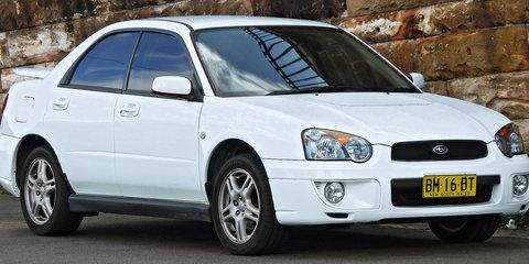 Subaru Impreza recalled : 33,548 cars in Australia affected by Takata campaign