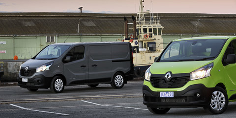 2015 Renault Trafic pricing and specifications