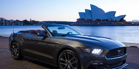 2015 Ford Mustang : Australian deposits top 2000, six months from launch
