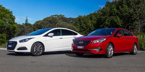 Hyundai i40 Premium v Hyundai Sonata Premium: Comparison review