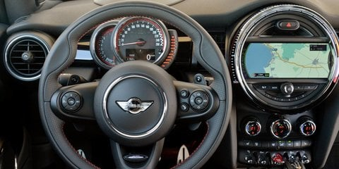 2016 Mini John Cooper Works unveiled in Australia at Mini Garage Sydney launch