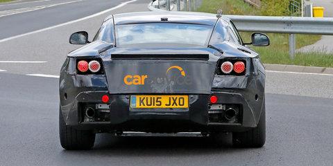 Aston Martin DB11 spied at the Nurburgring