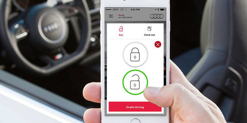 Audi on Demand smartphone-driven daily rental service launched in San Francisco