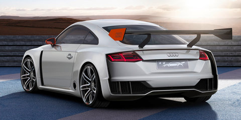 Audi TT Clubsport Turbo concept heading to Worthesee