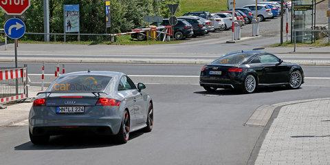 2016 Audi TT RS spy photos