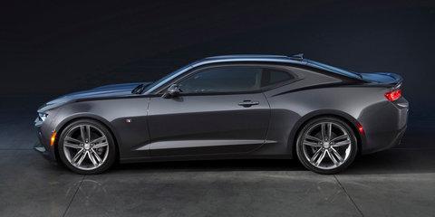 2016 Chevrolet Camaro unveiled