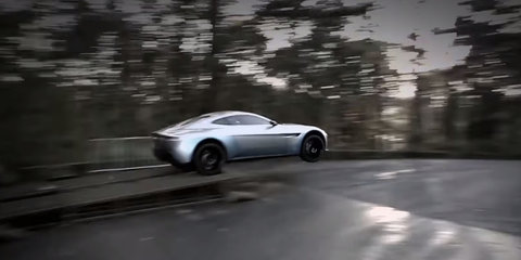 Aston Martin DB10 and Jaguar C-X75 car chase from upcoming Bond film teased