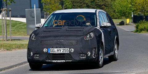 Kia sub-compact SUV spy photos