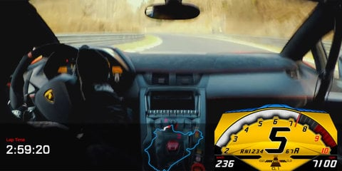Lamborghini Aventador Superveloce's sub-seven minute lap of Nurburgring released on video