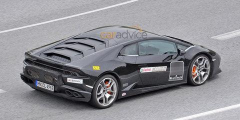 Lamborghini Huracan Superveloce spy photos