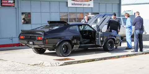 That time I built the Mad Max Interceptor
