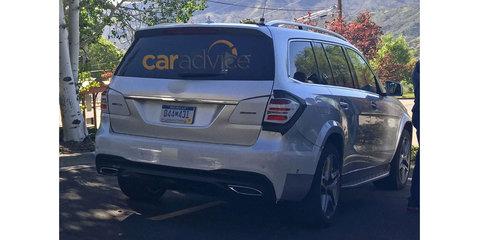 Mercedes-Benz GLS SUV spy photos
