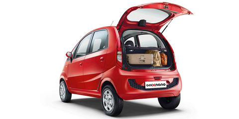 Tata Nano Gen X unveiled with automated transmission, opening rear hatch