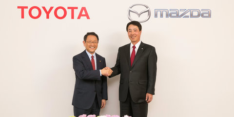 Toyota and Mazda sign long-term partnership focusing on drivetrains, safety